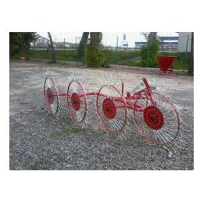 Грабли-ворошилки WIRAX 4 колеса