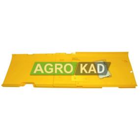 Пластиковая защита днища жатки Jonh Deere 925 (комплект с заклепками) (7,6m) (AH144176)